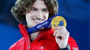 Сноубордист Подладчиков выиграл Олимпиаду в Сочи под флагом Швейцарии. Выступать за Россию не дали чиновники