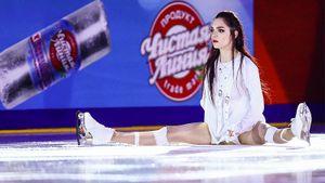 Медведева опубликовала видео сновыми коньками