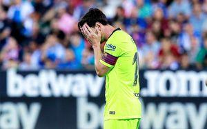«Барселона» потеряла очки в третьем матче подряд. Не спасает даже Месси