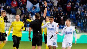Русский футбол вернулся матчем мечты! Удаление, шикарный штрафной и привет Бышовцу от тренера «Анжи»