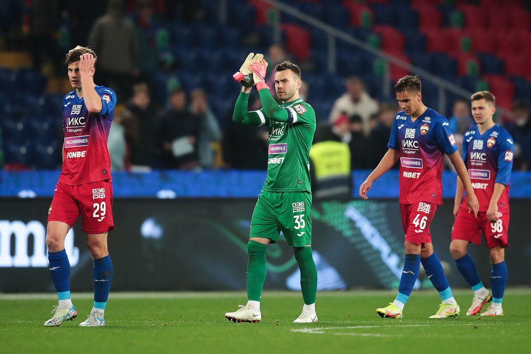 Акинфеев заявил, что перед дерби со Спартаком специально общался с командой, чтобы футболисты воспряли духом
