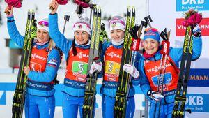 Назван состав сборной России начемпионат мира побиатлону вИталии