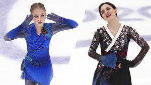 «Делаю максимум для четверного сальхова». Что говорили Трусова иМедведева после Гран-при России
