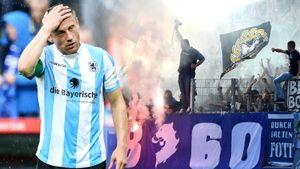 Последний матч Олича — ад. Его команда вылетела в 3-й дивизион, фанаты закидали поле петардами и арматурой: видео