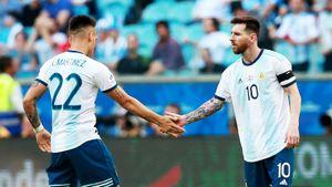 Аргентина пока неопозорилась наКопа Америка. Вплей-офф еевытащил неМесси— Лаутаро Мартинес