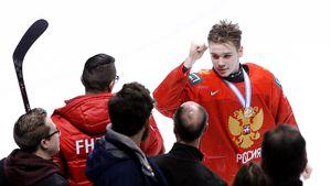 «После поражения отСША плакал очень сильно, заэто нестыдно». Главный хоккейный вундеркинд России