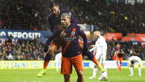 Агуэро за 20 минут спас «Сити» от вылета из Кубка Англии. Но оба его гола оказались скандальными