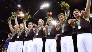 Как команда русских гимнастов выиграла золото на Олимпиаде в США (впервые в истории). В этом году в Токио повторили
