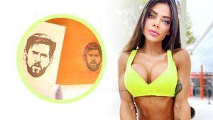 Знаменитая фотомодель сдержала обещание, сделав пикантную татуировку сМесси: фото