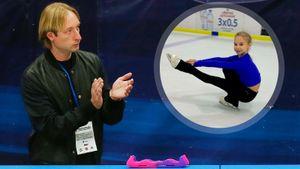 Плющенко о Жилиной: «Впервые в истории 12-летняя девочка выполнила самый сложный прыжок в фигурном катании!»
