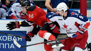 ЦСКА разбил «Авангард» в первой игре финальной серии КХЛ. Григоренко оформил хет-трик. Как это было