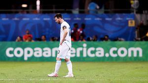 Месси спас сборную Аргентины отпоражения вматче сПарагваем наКубке Америки