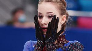 Красноярск увидел мировые рекорды ученицы Тутберидзе Акатьевой. Она сделала сразу 3 четверных и триксель