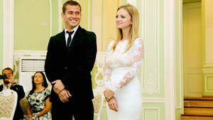 Какой была тайная свадьба Кержакова и Тюльпановой. Стол всего на 20 человек и прогулка на яхте по Неве