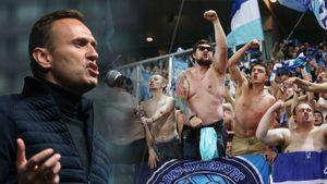 «Рейтинг власти ниже плинтуса». Навальный прокомментировал освистывание фанатами «Зенита» губернатора Петербурга