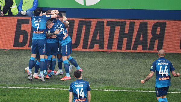 «Зенит» разгромил «Локомотив» с теннисным счетом и защитил чемпионский титул. Как это было