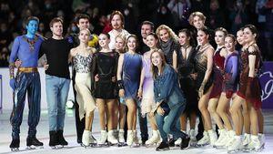 Первое шоу Тутберидзе в новом году: что говорили после него Евгения Медведева, Анна Щербакова и Диана Дэвис