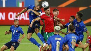 Действующие чемпионы Европы итальянцы не смогли обыграть Болгарию в квалификации ЧМ-2022