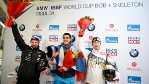 Русский призер ОИ-2018 выиграл первое золото Кубка мира. Он обыграл хейтера России на его же трассе