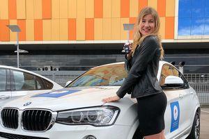 Призерка Олимпиады вСочи продает подаренный президентом BMW, чтобы помочь мужу купить стадион