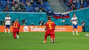 «Русские заплатили за то, что не встали на колено». Что пишут в соцсетях про 0:3 от Бельгии