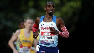 Мо Фара не выполнил олимпийский норматив в беге на 10000 м
