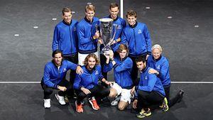 Русские теннисисты уничтожили сборную мира. В США после этого стали считать Россию частью Европы