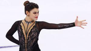 Чемпионка Европы Самодурова решила похвастаться тройным акселем, нонарвалась нахейт