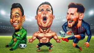 10 лучших бомбардиров в истории футбола