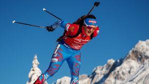Юрлова-Перхт пропустит сезон. Биатлонистка сообщила, что ждет второго ребенка