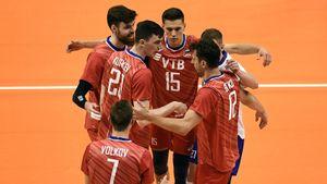 Российские волейболисты обыграли Канаду в матче Лиги наций