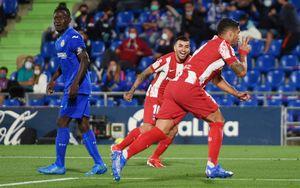 «Атлетико» вырвал победу над «Хетафе» благодаря двум голам Суареса в конце матча