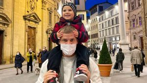 У 3-летнего сына Кокорина появился свой бренд одежды