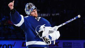 Василевский стал лучшим вратарем сезона в НХЛ по версии хоккеистов