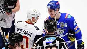 «Барыс» выбил изплей-офф двукратных чемпионовКХЛ. Возможно, это был последний матч великого Мозякина