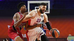 Баскетболисты ЦСКА проиграли «Олимпии» в матче за 3-е место Евролиги