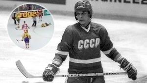 Уложил провокатора ударом головой. Знаменитая драка советского хоккеиста Каменского на ЧМ-1990: видео