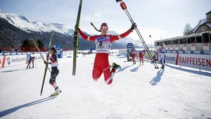 «Ступак включила передачу, которой не было у меня». Норвежцы восхищаются победой русской лыжницы
