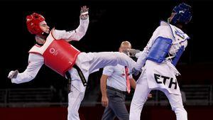 Тхэквондист Артамонов выиграл бронзовую медаль на Олимпиаде в Токио