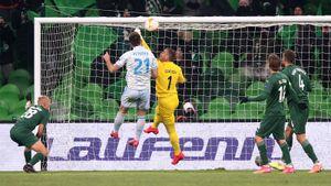 «Краснодар» проиграл «Динамо» Загреб в первом матче 1/16 Лиги Европы. Как это было