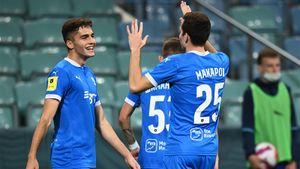 «Динамо» благодаря голу Захаряна обыграло «Сочи» и поднялось в РПЛ на 2-е место