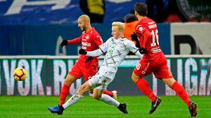 Комбаров забил впервые за три года. Но «Спартак» Рианчо снова не выиграл