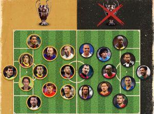 Зидан, Месси и Роналду оказались в одной сборной. В соперниках — Марадона, Роналдо и Буффон