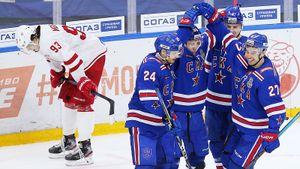 21:3— фавориты разбили аутсайдеров впервый день плей-оффКХЛ. Ждатьли сенсаций отКубка Гагарина?