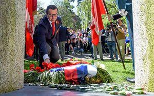 «9 мая – праздник гордости за страну». Хоккейная сборная России почтила память героев войны