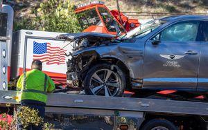 Тайгер Вудс в 2 раза превысил допустимую скорость, когда попал в аварию