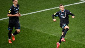 Грулев снова разбил сопернику лицо, «Динамо» впервые забило больше двух за игру. Это был первый матч Шварца в РПЛ