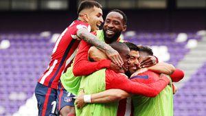 «Атлетико» одержал волевую победу над «Вальядолидом» и стал чемпионом Испании