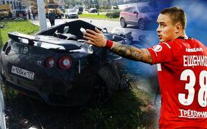 Самые шикарные авто, которые разбили футболисты