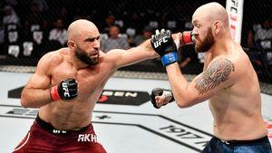 UFC в Абу-Даби начался с победы дагестанца. Ахмедов не проигрывает с 2016-го